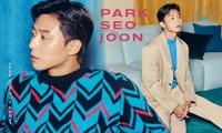 Ngắm loạt trang phục với màu sắc gây sốc của Park Seo Joon trên Harper's Bazaar Hàn