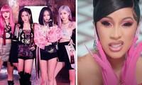 """Netizen """"soi"""" được tên của rapper Cardi B trên hình chiếc CD album sắp ra của BLACKPINK"""