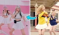 Vũ đạo của BLACKPINK trong Ice Cream y chang vũ đạo của Red Velvet trong Ice Cream Cake?