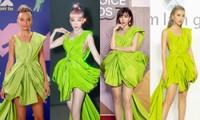 """Diện váy Công Trí trên thảm đỏ VMAs, Nicole Richie """"đụng hàng"""" tận 9 mỹ nhân showbiz Việt"""