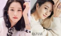 """Seo Ye Ji khiến fan lo lắng vì thân hình """"da bọc xương"""" trên Harper's BAZAAR Hàn"""