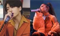 """Netizen Hàn """"bấn loạn"""" trước thông tin JungKook (BTS) sẽ hợp tác cùng Ariana Grande"""