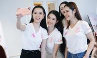 """Top 60 Hoa Hậu Việt Nam 2020: Tập luyện hết mình, """"selfie"""" nhiệt tình!"""
