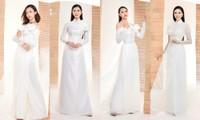 Top 60 Hoa Hậu Việt Nam: Ngắm dàn thí sinh cao trên 1m70 duyên dáng trong tà áo dài