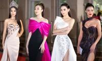 Hoa hậu Tiểu Vy cùng dàn người đẹp khoe sắc trên thảm đỏ Bán kết Hoa Hậu Việt Nam 2020