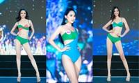 Top 40 Hoa Hậu Việt Nam 2020 khoe body cực phẩm với áo tắm trên sân khấu Bán kết