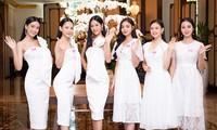 Top 60 Hoa Hậu Việt Nam 2020 diện váy trắng rạng rỡ, sẵn sàng cho vòng Bán kết tối nay