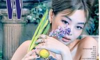 Jennie BLACKPINK gây ấn tượng với lông mày hình cánh cung sang chảnh trên tạp chí W Hàn