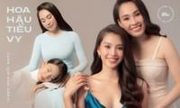 Bộ ảnh chứng minh nhan sắc đỉnh cao của Hoa hậu Tiểu Vy là được thừa hưởng từ mẹ