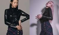 Jang Won Young và Rosé BLACKPINK đụng hàng: Chân dài cực phẩm không đọ được với chân cong