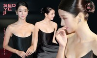 Gây sốc vì diện váy siêu gợi cảm trên thảm đỏ nhưng Seo Ye Ji lại bị chê trang điểm lỗi