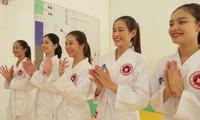 Hoa Hậu Việt Nam 2020: 5 người đẹp trải nghiệm võ thuật tại CLB Aikido đặc biệt