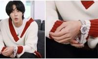 Áo len và đồng hồ của Jin (BTS) có giá tiền chênh lệch cỡ nào mà khiến netizen sửng sốt