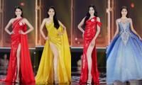 Ngắm Top 10 Hoa Hậu Việt Nam 2020 xinh đẹp lộng lẫy trong trang phục dạ hội