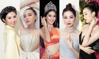 Nhan sắc đẳng cấp của 5 cựu hoa hậu từ thảm đỏ tới hậu trường đêm CK Hoa Hậu Việt Nam 2020