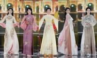 Ngắm trọn bộ sưu tập áo dài đêm Chung kết Hoa Hậu Việt Nam 2020 của Hoa hậu Ngọc Hân