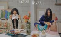 """Jisoo """"đầu bù tóc rối"""" trên Harper's BAZAAR nhưng vẫn không giấu được visual đỉnh cao"""