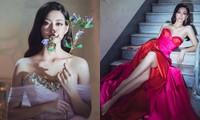 Hoa hậu Lương Thùy Linh khoe đôi chân 1m22 thon dài hiếm có trong bộ ảnh thời trang mới