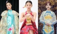 Ngọc Trinh, Diệu Nhi cùng dàn mỹ nhân Việt đọ sắc ấn tượng trong trang phục truyền thống