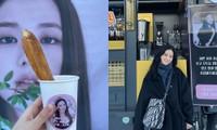 """Rosé gửi xe cà phê cho Jisoo đến phim trường """"Snowdrop"""" với lời nhắn nhủ đáng yêu cực kỳ"""