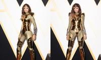Hoa hậu H'Hen Niê có màn cosplay Wonder Woman siêu đẳng cấp trên thảm đỏ ra mắt phim