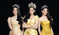 Nhan sắc Hoa hậu Đỗ Thị Hà & 2 Á hậu khác gì sau 1 tháng đăng quang với lịch trình dày đặc