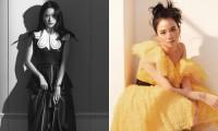 """Mặc chiếc váy da bóng khó nhằn, Jisoo (BLACKPINK) """"chặt đẹp"""" mẫu xịn của hãng"""