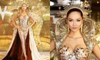 Hoa hậu H'Hen Niê hóa thân thành Nữ thần Mặt Trời đầy quyền lực trong bộ váy đồ sộ