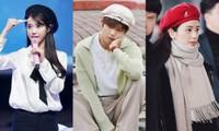 Học ngay các idol K-Pop cách đội mũ beret, chiếc mũ được yêu thích nhất trong mùa Đông