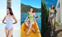 Huyền My, Bảo Anh, Hoàng Yến Chibi... diện bikini khoe dáng gây sốt MXH tuần đầu năm mới
