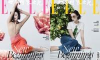 Nghê Ni khiến netizen Trung tranh cãi kịch liệt vì mặt trắng bệch trên bìa ELLE Trung