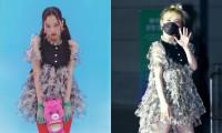 """Seunghee OH MY GIRL biến bộ váy từng được Jennie BLACKPINK mặc thành """"thảm họa thời trang"""""""
