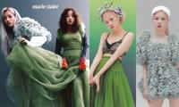 Nhìn 2 thành viên của (G)I-DLE mặc váy giống Rosé BLACKPINK mà thấy buồn cho 2 cô gái