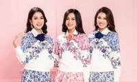 Học Hoa hậu Đỗ Thị Hà và hai nàng Á hậu cách chọn trang phục xinh tươi mùa Lễ Tết