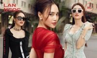 Ninh Dương Lan Ngọc đẹp sang chảnh khi dạo phố với các thiết kế rất hợp thời tiết Sài Gòn