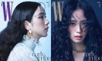 Jisoo BLACKPINK khoe nhan sắc cực kỳ ấn tượng trên bìa W Hàn, nhưng netizen lại nhắc đến Lisa