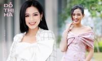 Soi trang phục Hoa hậu Đỗ Thị Hà trong các hoạt động nhân ái: Xinh đẹp nền nã, không có gì để chê