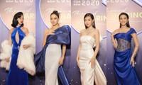 Hoa hậu Đỗ Mỹ Linh diện váy cúp ngực cực sâu, đọ sắc cùng Đỗ Thị Hà, Lương Thùy Linh trên thảm đỏ Ngôi sao