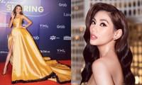 """Võ Hoàng Yến tiết lộ chiếc váy """"công chúa Belle"""" của cô được may trong thời gian siêu ngắn"""