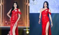Chung kết Đại Sứ Hoàn Mỹ 2020: Mộng Thường mặc lại váy từng được Hoa hậu Đỗ Thị Hà diện