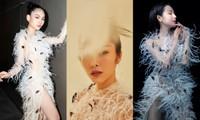 Ba mỹ nhân Việt cùng diện mẫu váy đính lông, vì sao Tăng Thanh Hà được khen nổi trội nhất?