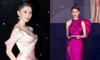 """Á hậu Thùy Dung xinh đẹp lộng lẫy trong vai trò MC chung kết """"Đại Sứ Hoàn Mỹ 2020"""""""