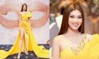 Á hậu Ngọc Thảo khoe trình catwalk đỉnh, sẵn sàng chinh chiến tại Miss Grand International