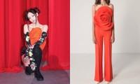 Cận cảnh chiếc áo hoa hồng trứ danh của Jennie BLACKPINK trong concert The Show, giá thực sự gây choáng