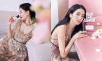 Cùng quảng cáo nước hoa Dior, hai đại sứ Jisoo (BLACKPINK) và Angela Baby lại được đem ra so sánh