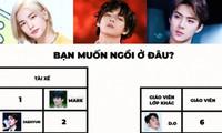 Bạn sẽ chọn chỗ ngồi nào trên chuyến xe buýt toàn các nam idol sở hữu visual hàng đầu K-Pop?