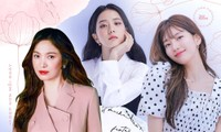 """Các """"nữ thần"""" cùng tung bộ ảnh thời trang, Suzy liệu có thần thái hơn Jisoo (BLACKPINK) và Song Hye Kyo?"""