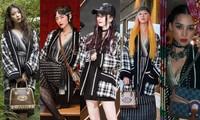 Tiểu Vy, Khánh Linh, Quỳnh Anh Shyn, IU, Dương Mịch cùng diện áo Gucci, ai kém nổi bật nhất?
