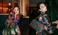 """Hoa hậu Tiểu Vy tung bộ ảnh diện đồ Gucci đẹp xuất thần, đổi phong cách cực """"chất"""""""