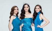 Hoa hậu Lương Thùy Linh cùng 2 Á hậu đọ sắc trong bộ ảnh khởi động Miss World Vietnam 2021